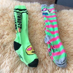 2 pair of Justice socks